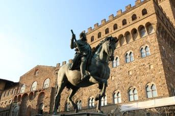 Horseman in the Piazza