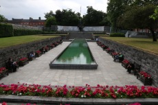 The garden of remembrance for all of those who died fighting in any conflict.