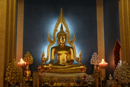 Buddha at the marble temple