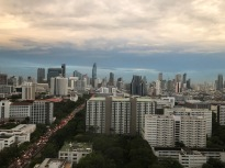 View from our room in Bangkok
