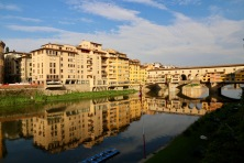 Ponte Vecchio and the opposite bank