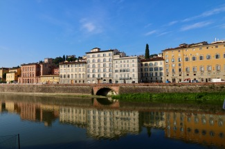 Reflections in the Arno