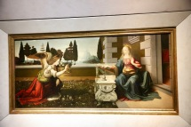 Annunciation by Leonarda Da Vinci