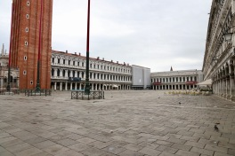 The very empty square