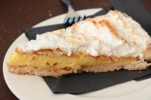 Lemon pie (also known as lemon meringue pie - almost as good as my Aunty Barbara's