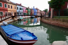 Beautiful shot of Burano