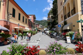 Monterosso in the newer area