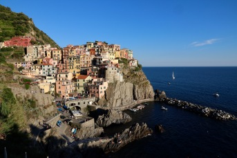 Manarola in the late afternoon sun