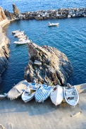 Boats by Manarola Harbour