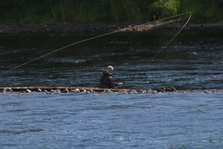 Fishing at the River Ness