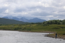 Scenery between Inverness and Gairoch