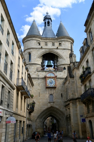 Grand gate - old city entrance Bordeaux