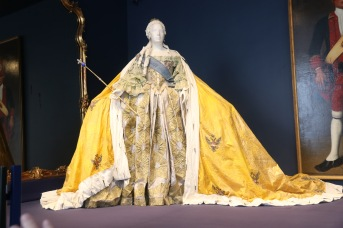 A replica of one of Catherine's gowns
