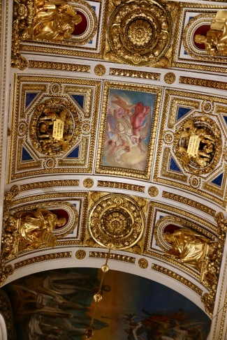 Roof details in St Isaac's Cathedral