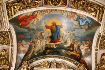 Artwork in St Isaac's Cathedral