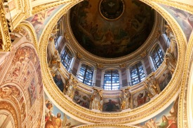 Roof in St Isaac's Cathedral