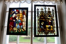 Details of stained glass windows