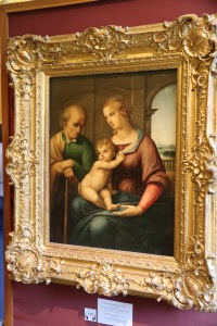 The Holy Family (Madonna with the beardless Joseph) by Raffaello (Raffaello Santi)