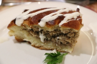 Meat Stolle pie