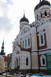 Another view of the Alexander Nevsky Cathedral