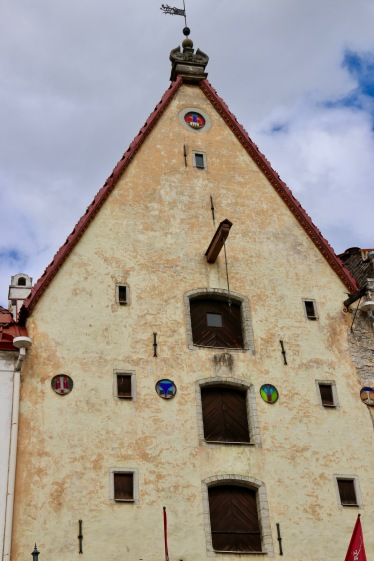 Lower Town Tallinn - This building is one of the older buildings in Tallinn and was build by a wealthy merchant.