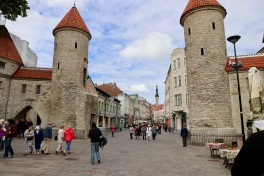 Lower Town Tallinn Town Gates