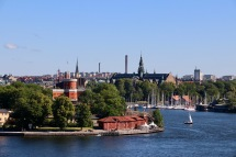 View of Stockholm from the Lookout