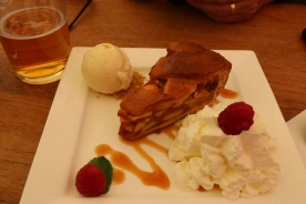 The delectable apple pie dessert - to share