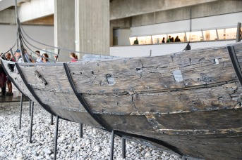Part of the Viking boats recovered