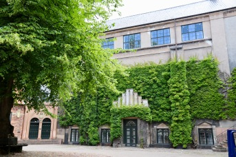 Courtyard near the old University of Copenhagen buildings