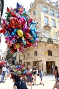 Party mood in Bordeaux on Bastille Day