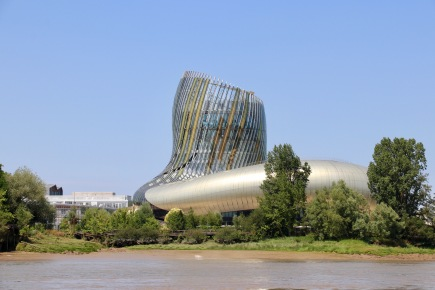 The weird wine museum from the river