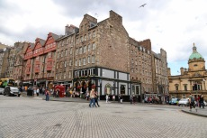 Another shot of The Royal Mile