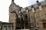 Statue within Edinburgh Castle