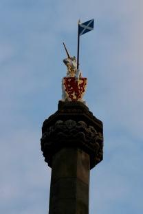 The unicorn the symbol of Edinburgh