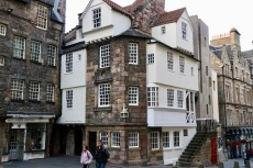 An old house in Edinburgh