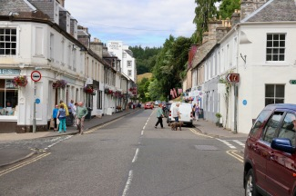 Main Street of Dunkeld
