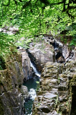 Waterfall near the Hermitage