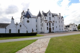 Blair Castle from the car park