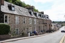 Older houses near Inverness Castle