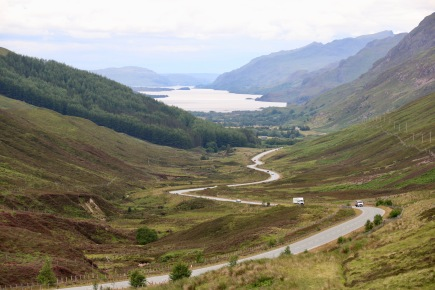 Looking over Loch Maree