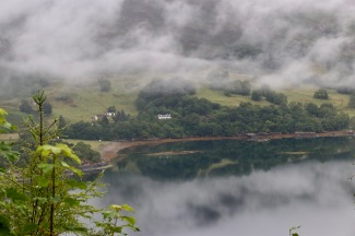 Scenery from Shieldaig to Plockton