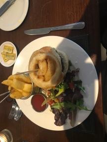 Phil's beef burger