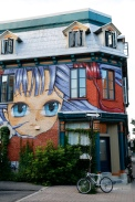 Montreal - street mural