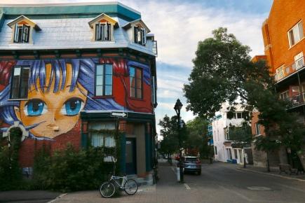 Montreal - gorgeous street scene