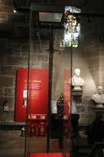 William Wallace Monument - his sword which was 1.8m long and is perfectly balanced