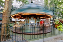 Bryant Park - Phil's carousel experiment