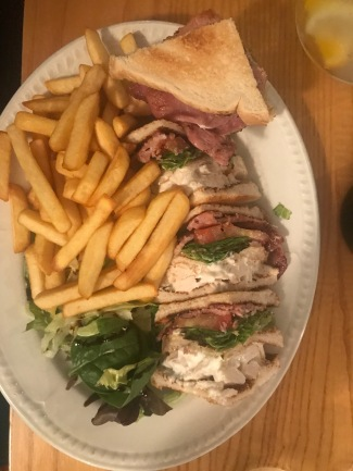 Bel's club sandwich