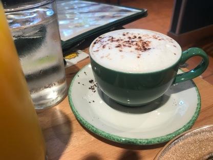 Bel's cappuccino