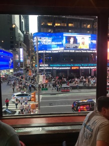 Bubba Gump - view from our window